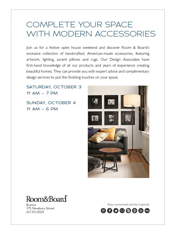 Open House At Room Board