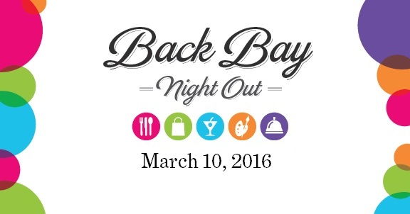 Back bay night out deals steals special events back for Acote salon hours