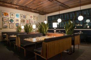 Earls Kitchen + Bar Boston Back Bay Table