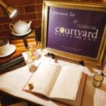 Holiday Tea at The Courtyard Restaurant