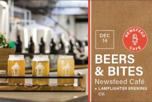 Beers & Bites: Lamplighter Brewing Co. @ Newsfeed Café | Boston | Massachusetts | United States