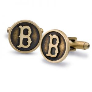 Boston Back Bay Gift Guide: Lux Bond & Green Red Sox Cuff Links