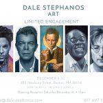 Dale Stephanos Pop Up Gallery at 222 Newbury Street