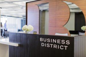 Business District Boston Back Bay