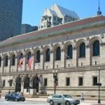 Boston Public Library Boston Back Bay