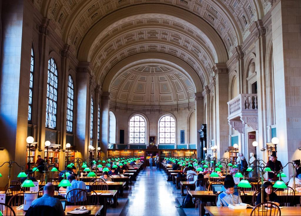 Boston Public Library, Boston Back Bay