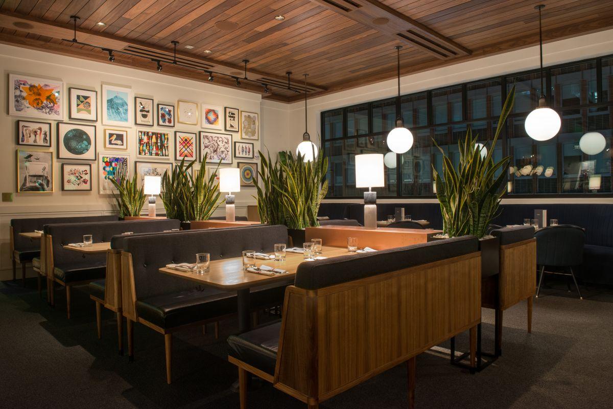 Earls kitchen bar boston back bay table