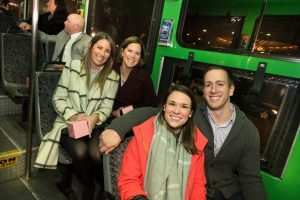 Boston Back Bay Gala Guests Old Town Trolley