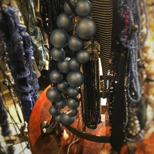 Beaded Necklaces at Betsy Jenney Newbury Street