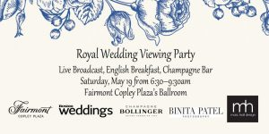 Royal Wedding Viewing Party at Fairmont Copley Plaza @ Fairmont Copley Plaza | Boston | Massachusetts | United States