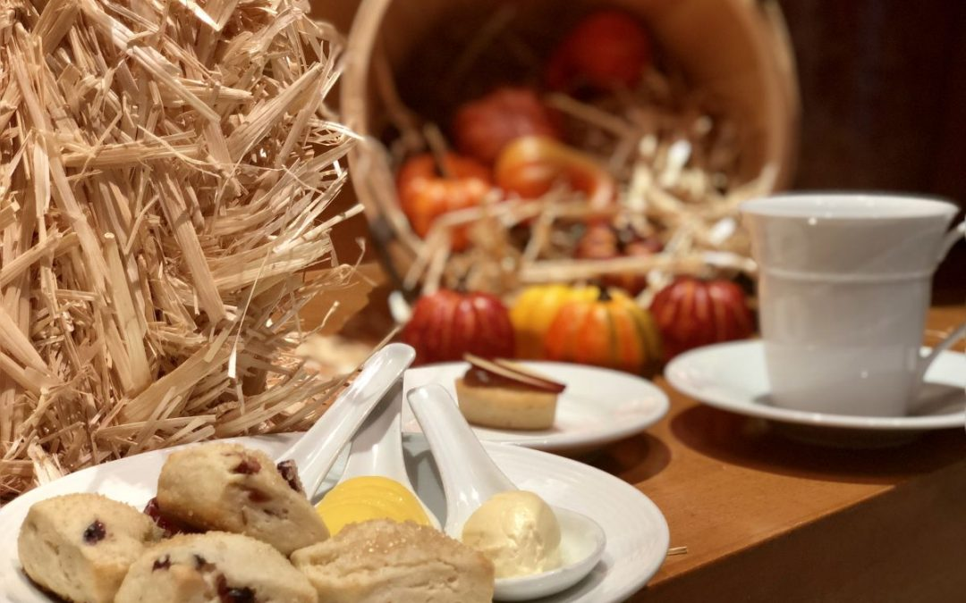 Fall Harvest Afternoon Tea at the Mandarin Oriental, Boston