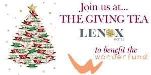 The Giving Tea at The Lenox Hotel @ The Lenox Hotel