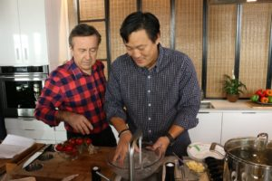 Chefs Daniel Boulud and Ming Tsai Host Collaborative  Spring Forward Dinner at Bar Boulud @ Bar Boulud
