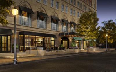 Taj Hotel Renovation Includes an Enclosed Rooftop Restaurant