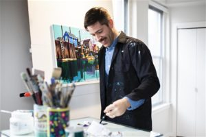 Co|So Workshop: Create Eye Catching Acrylics with Chris Firger @ Copley Society of Art | Boston | Massachusetts | United States